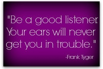 Why listening trumps talking for PR pros | Communication Advisory | Scoop.it