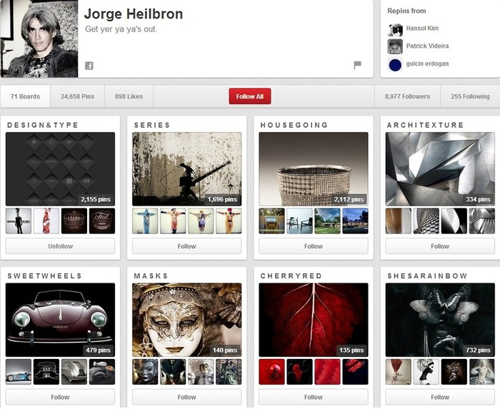 9 Great (and 1 Horrible) Pinterest Pages via @Cygnismedia - SEJ | Business in a Social Media World | Scoop.it