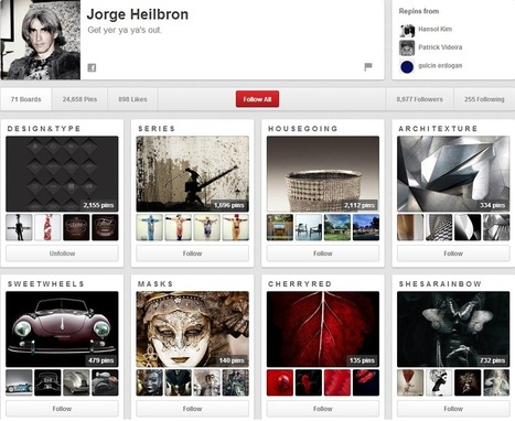 EXAMPLES - 9 Great (and 1 Horrible) Pinterest Pages | Pinterest for Business | Scoop.it