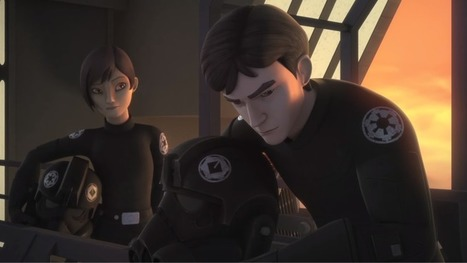 A New Star Wars Rebels Clip Shows How Wedge Antilles Joined The Rebellion | Sci-Fi Talk | Scoop.it