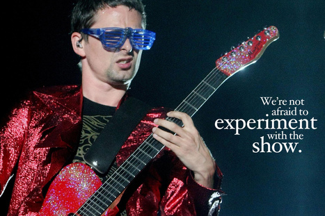 De super citations de Matt Bellamy (English Version) | The Awesome Muser | Scoop.it