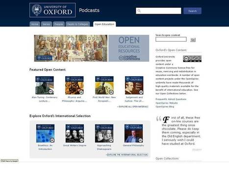 Oxford OER International | OpenSpires | Social Learning - MOOC - OER | Scoop.it