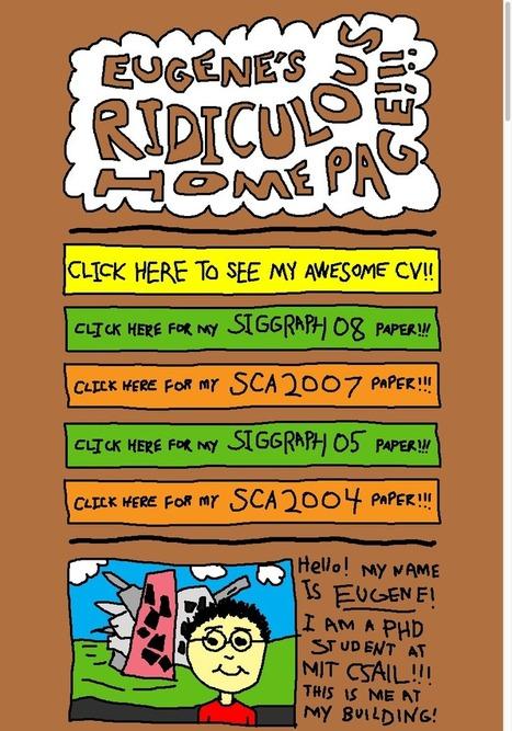 16 ultra-creative CVs / interactive résumés that catch the eye | Public Relations & Social Media Insight | Scoop.it
