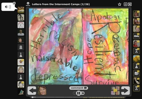 Letters from the Internment Camps | VoiceThread for Teaching and Learning | Scoop.it