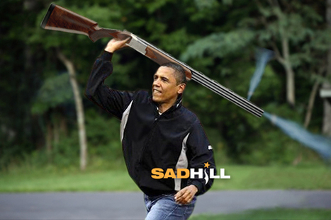 White House Confession: Obama 'Skeet Shooting' Pic Was Doctored - Releases Original Version   Sad Hill News   News You Can Use - NO PINKSLIME   Scoop.it