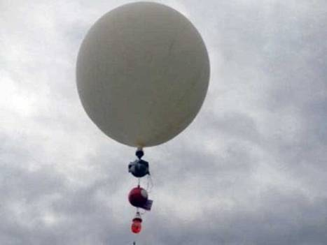 Raspberry Pi Balloon Goes Too High, Goes Boom, But Survives | Arduino, Netduino, Rasperry Pi! | Scoop.it