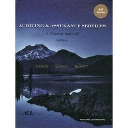 Test Bank For » Test Bank for Auditing & Assurance Services A Systematic Approach, 6th Edition : Messier Download | Accounting Online Test Bank | Scoop.it