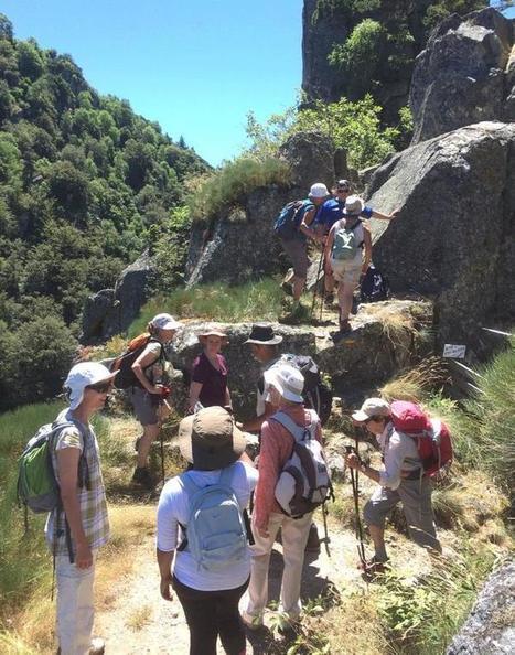 Le Festival de la randonnée est parti d'un bon pied | L'info tourisme en Aveyron | Scoop.it