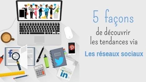 5 façons de découvrir les tendances en temps réel via le web et les réseaux sociaux - DIGIMIND Social Intelligence Blog | François MAGNAN  Formateur Consultant | Scoop.it