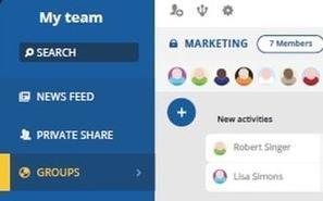 talkSpirit, l'outil de collaboration français qui n'a rien à envier à Slack | Facebook, Twitter, LinkedIn et les autres ... | Scoop.it