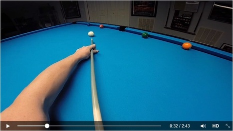 Rail Shot Exercise, Thorsten Hohmann's point of view | American Pool drills | Scoop.it