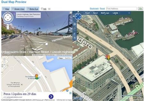 Eines online per a comparar mapes de diverses plataformes web | TIG | Scoop.it