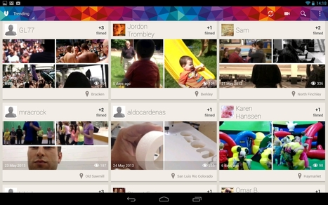 3 applications mobiles pour faire des vidéos collaboratives | Time to Learn | Scoop.it