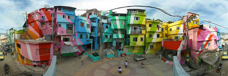 Haas&Hahn campaign to paint an entire favela in Rio de Janeiro - designboom | architecture & design magazine | The Architecture of the City | Scoop.it