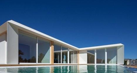 maison contemporaine en forme de l immacul eacu