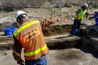 Ancient pit house unearthed by gas pipeline workers in Utah   The Archaeology News Network   Kiosque du monde : Amériques   Scoop.it