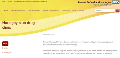 Haringey club drug clinic | Initiatives & Services | Scoop.it