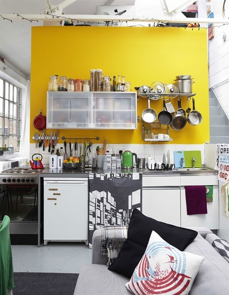 Clever Warehouse Living: London | Raw and Real Interior Design | Scoop.it