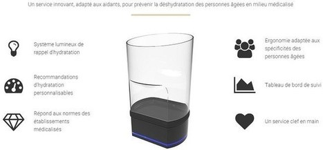 AuxiVia : le verre connecté pour la santé des personnes âgées | Seniors | Scoop.it