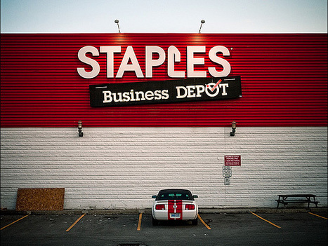 """Low-Paying Staples Is Romney's Go-To Example of """"Success"""" 