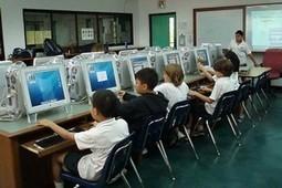 Ecole numérique : l'Europe compte en moyenne cinq élèves pour un PC | Educommunication | Scoop.it