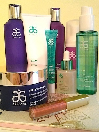 Review, Before/After Mascara Comparison Photos: Arbonne Pure Vibrance Hair Care, Calm Skincare, Hamptons Classic Makeup Palette | Health, beauty and skincare | Scoop.it