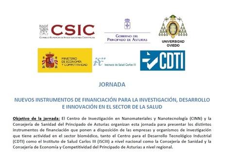 Jornada I+D+i en el sector de la Salud - 16/4 - Salón de Actos del HUCA | eSalud Social Media | Scoop.it