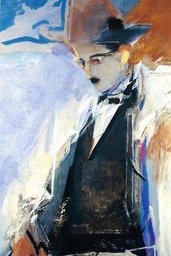 Depictions of Fernando Pessoa in art. | De llibres... | Scoop.it
