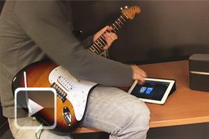 La première guitare électrique pour l'iPad | Actualités et Tendances -  High-Tech & Technologies | Scoop.it
