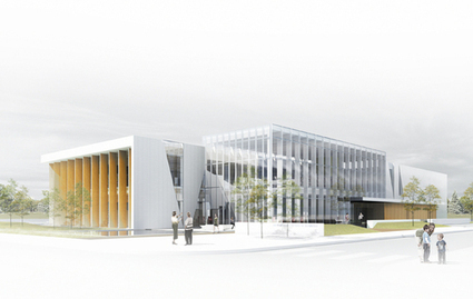 Bibliothèque Paul-Mercier - Europaconcorsi | bibliothèques troisième lieu, bibliothèques innovantes | Scoop.it