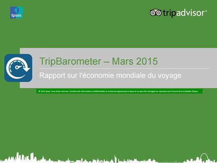 L'économie mondiale du voyage / Tripbarometer - Ipsos | Le site www.clicalsace.com | Scoop.it