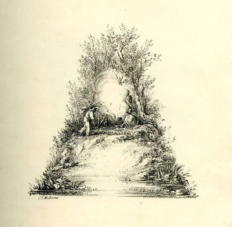 26 landscape scenes shaped as letters of the alphabet from illustrator Charles Joseph Hullmandel | #Design | Scoop.it