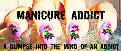 Manicure Addict: Psychedelic Butterfly Wings   Beauty Training Studio   Scoop.it