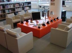 Un superbe salon de lecture numérique à la bibliothèque deRennes | Bibliothèques du futur | Scoop.it