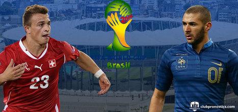 Pronostics Suisse - France : Groupe E - Coupe du Monde 2014 | Paris sportifs et pronostics | Scoop.it