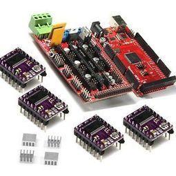 RepRap RAMPS1.4 with Arduino Mega2560 & DRV8825 stepper driver for Prusa Mendel | Raspberry Pi | Scoop.it
