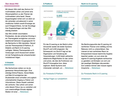 Das Wiki ist online | e-learning in higher education and beyond | Scoop.it