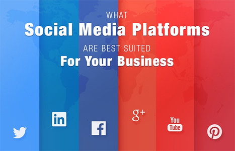 Qual plataforma de mídia social é melhor para sua empresa? | Technology Empowering People | Scoop.it
