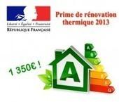 Comment obtenir la prime de rénovation thermique de 1350€ ? - Dessine moi une maison | Immobilier | Scoop.it