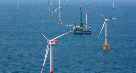 Last turbine in at Thornton Bank | Belgian offshore wind energy news | Scoop.it