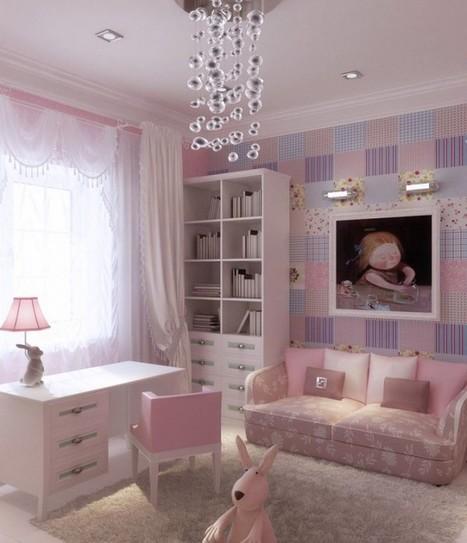 Cute Girls' Rooms | Designing Interiors | Scoop.it