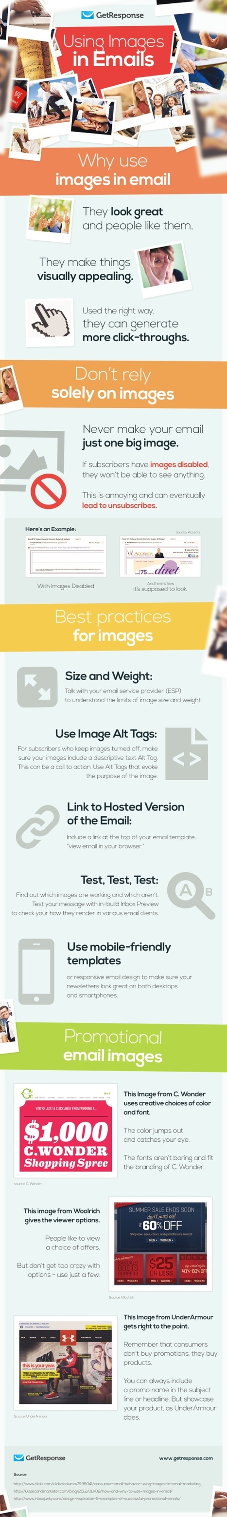 Using Images in Email #Infographic | Commentrix | Scoop.it