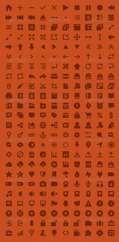 Solidcons Vector Icons (Icons) | GFX Database | GFX Download | Scoop.it