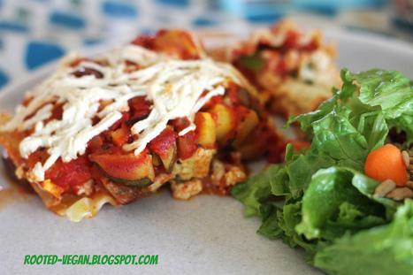 little things are big: Vegan Summer Lasagna | My Vegan recipes | Scoop.it