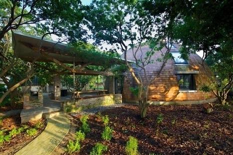 Une maison en bois en forme de dôme   Efficycle   Scoop.it