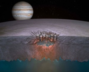 Ice moon's lakes could hold alien life | Space matters | Scoop.it