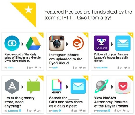 10 must-have IFTTT recipes for social media managers | Battenhall | Content marketing | Scoop.it