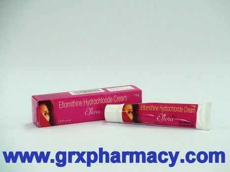 Eflora (Eflornithine Hydrochloride Cream) | Grxpharmacy | Scoop.it