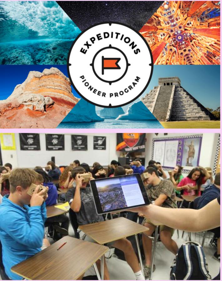 Google expédition l'app pour faire voyager vos élèves | TIC et TICE mais... en français | Scoop.it