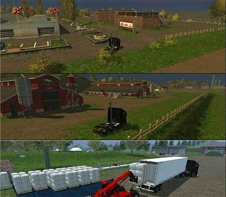 Canada Map v3.0 | FS2013Mods | Farming Simulator 2013 Mods | Scoop.it